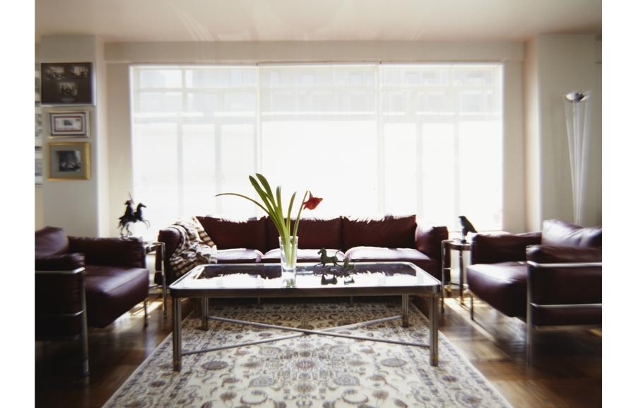 Mayor Ed Koch's Living Room. Copyright Michael Mundy