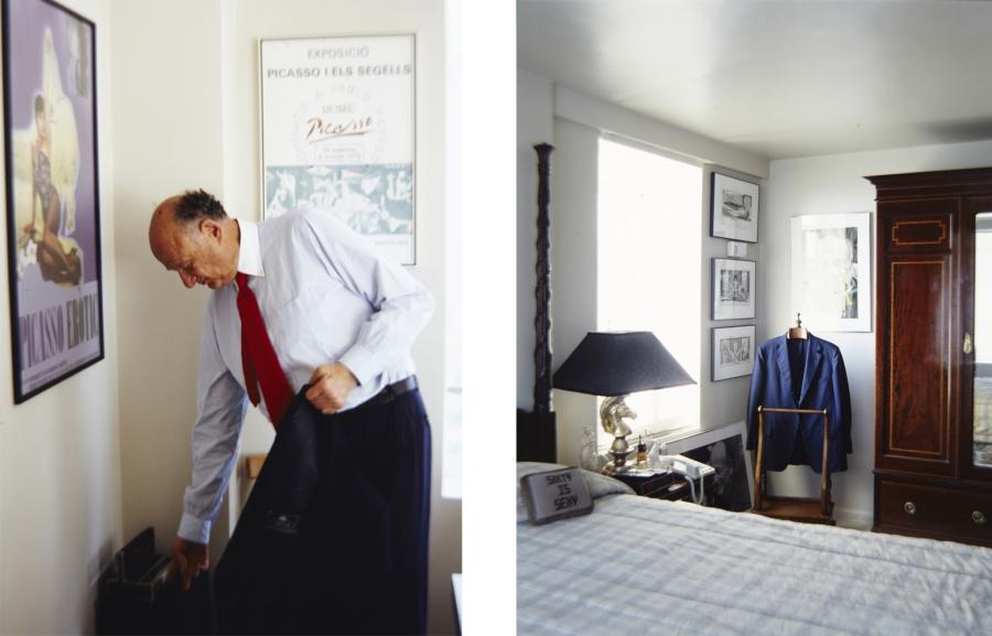 Mayor Ed Koch's Bedroom. Copyright Michael Mundy