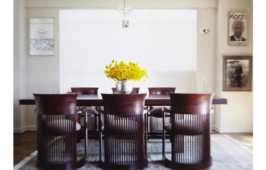Mayor Ed Koch's Dining Room. Copyright Michael Mundy